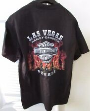 Harley Davidson Black Still Hot Tee Shirt Las Vegas New Medium $28.95