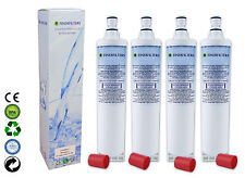4 x finerfilters Compatibile Whirlpool Americana Stile Frigo Acqua Filtro 4396508