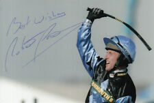 ROBBIE POWER SILVER BIRCH HAND SIGNED 6X4 PHOTO 2007 GRAND NATIONAL 5.