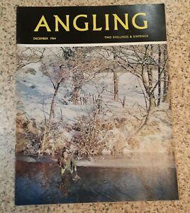 ANGLING FISHING MAGAZINE   DEC 1964 VGC