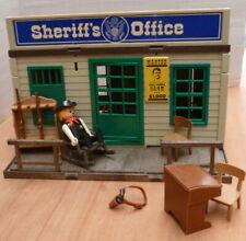 Vintage Playmobil Playpeople Western Sheriffs Office 2510