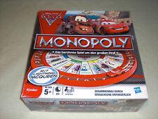 Monopoly Cars 2 - mit Lightning Mc Queen - Disney Pixar Hasbro - Kinder Version