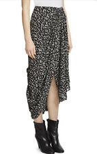 Isabel Marant Candelia Draped Floral Print Midi Skirt, Size 10 RRP £835