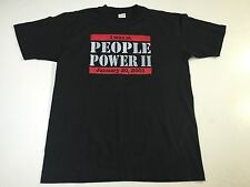 (XL) PEOPLE POWER II Philippines Black Shirt Edsa Revolution Resistance