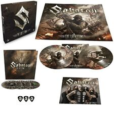 SABATON - THE LAST STAND  2 DVD+1 DVD+ 2 PICTURE VINYL BOX SET NEUF