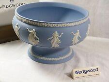 "Wedgwood Blue Jasper Ware "" Dancing Hours "" Pedestal Bowl very rare example !!!!"