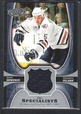 ALEXEI SEMENOV 2005/06 UPPER DECK POWER PLAY SPECIALISTS GAME JERSEY SP $12