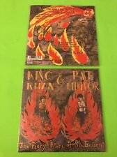 "King Khan & Pat Meteor The Fiery Tears Of St Laurent 7"" New"