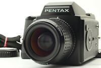 [Almost MINT] Pentax 645 Camera Body + SMC A 55mm f/2.8 Lens Strap From Japan