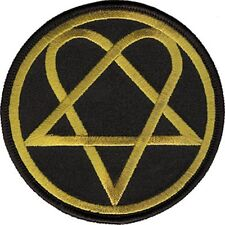 HIM - HEARTAGRAM - EMBROIDERED PATCH - BRAND NEW - MUSIC BAND 2837