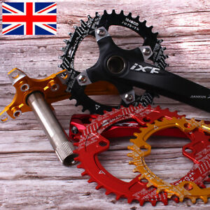 104/64BCD 170mm Crank MTB Bike Narrow Wide 30-42T Single Chainring Sprocket BB