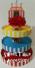 alzatina 3 piani party set festa compleanno sweet table circo comunione