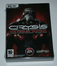 Crysis Maximum Edition - PC DVD ROM - New and Sealed