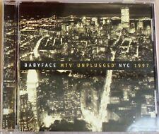 Babyface MTV Unplugged NYC 1997 CD - 1997 EPIC