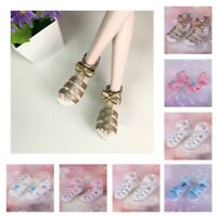 Doll Outfit Accessories Ankle Strape Shoes Sandals Plats For 1/3 BJD Dolls