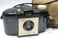 Kodak Brownie 127 roll film camera with Kodak case & film spool