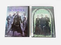 (2 DVDs) The Matrix; Matrix Reloaded (Widescreen) Keanu Reeves Fishburne