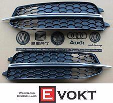 Audi A6 4G S6 S-Line Bumper Mesh Grille Chrome A6 4G 2010-2015 Genuine New