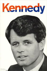 Official 1968 Robert Kennedy Primary Campaign Poster (1508)
