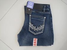 Outback/Wild Child-Ladies Bling Mid Rise Bootleg Super Stretch Jeans-Size Aus 10