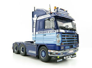 Tekno 76552 Scania 3-Serie Topline 143 6x4 Truck - Ringoot & Zoon - Scale 1:50