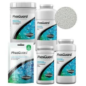 Seachem Phosguard 100ml 250ml 500ml 1000ml 2000ml Reef Marine Phosphate Remover