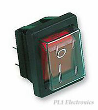 ARCOLECTRIC SWITCHES   C1353ALGNF   SWITCH, DPST, RED I/O, 16A, 250V
