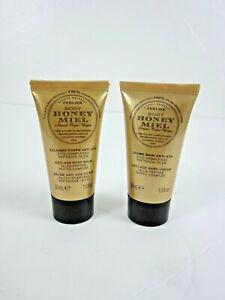 Perlier Honey Miel Anti-Age 2 Piece Travel Set et mini Hand Cream & Body Balm