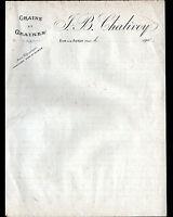 """DUN-sur-AURON (18) GRAINS GRAINES """"J.B. CHALIVOY"""" en 1900"""
