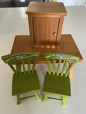 American Girl Doll Furniture Lot Angelina Ballerina Chairs Table