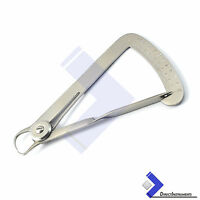 Dental Lwanson Gauge Spring Crown Wax Caliper Tenth 10mm Diamond Orthodontic Lab