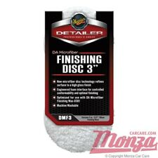 "Meguiars 3"" DA Microfibre Finishing Pads Dual Action Polisher, MT320, G220, DAS6"