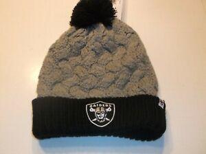 Oakland Raiders NFL Women's Matterhorn beanie  by 47 Brand