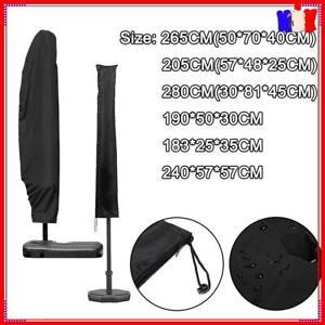 Housse de Protection Parasol Droit & Déporté Imperméable Anti-UV Couverture 210D