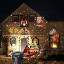 Christmas Moving Laser Projector LED Light Xmas Outdoor Landscape Garden Decor
