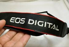 Canon Digital Camera Neck Shoulder Strap EOS Genuine OEM - Black Red