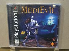 MediEvil (Sony PlayStation 1, 1998) PS1 Brand New Sealed Black Label