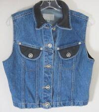 c8ad9366f Denim Vest Cropped Vests for Women for sale | eBay