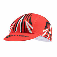 ROCKBROS Cycling Outdoor Sports Cap Breathable Hat Sunhat Suncap Red Free Size