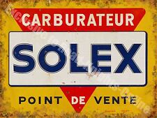 Solex Vergaser, 151 Vintage Motor Garage Werbe , Klein Blechschild