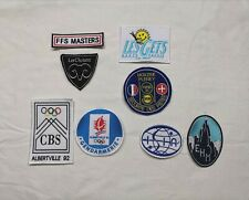 patch ecusson albertville 92 jo jeux olympiques ffs master 3 vallees polaris