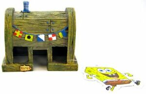 "LM Spongebob Krusty Krab Restaurant Aquarium Decor Large (2.5""L x 2.5""W x 3""H)"