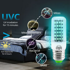 UV Germicidal Light Bulb Ultraviolet Sterilizer Lamp Dust Mite Eliminator 220V