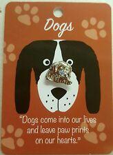 'Dog Pin' badge