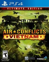 AIR CONFLICTS VIETNAM PS4 ULTIMATE NEW! WAR, WARFARE, JETS, HELICOPTERS, COMBAT