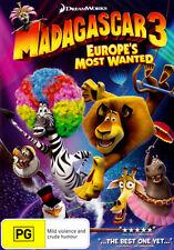 Madagascar 3: Europes Most Wanted * NEW DVD * (Region 4 Australia)