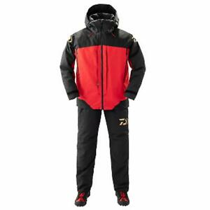 DAIWA Gore-Tex Product Combination Up Fishing Winter Suit DW-1809 Red Japan