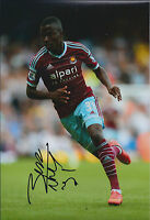 Enner VALENCIA Signed 12x8 Photo AFTAL COA Autograph Ecuador West Ham Hammers