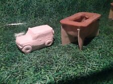 LATEX ONLY MOULD LANDROVER 20CM LONG ORNAMENT MOULD