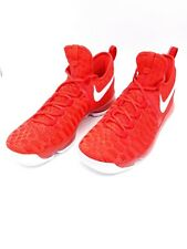 New Nike Zoom KD Kevin Durant 9 Red Varsity Basketball Shoes 843392-611 Size 11